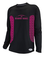 Sublimated Dri-Power® Long Sleeve Raglan Tee