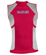 Sublimated Performance Tight-Fit Sleeveless Top