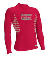 Sublimated Performance Long Sleeve Mock