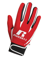 Russell Athletic Adult Silicone Receiver Gloves